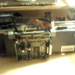 Taking apart printer