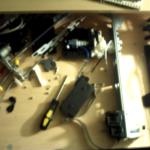 Taking apart a printer