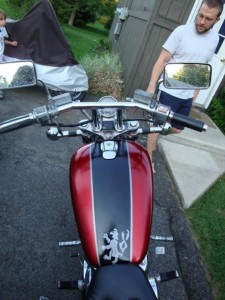 Motorcycle - View 2